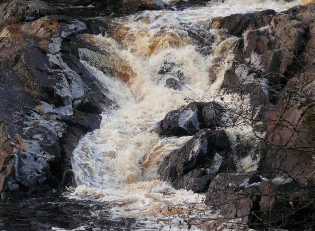 карелия водопад ахвенкоски