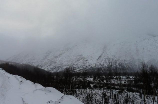 горы вдалеке