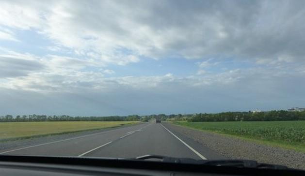 дорога м4 после ростова