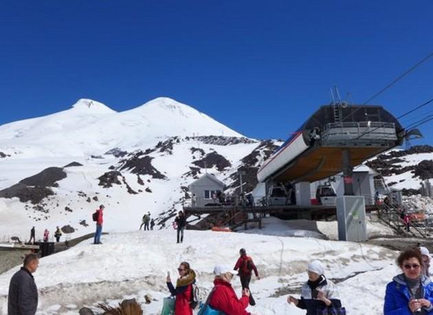 кавказские горы эльбрус