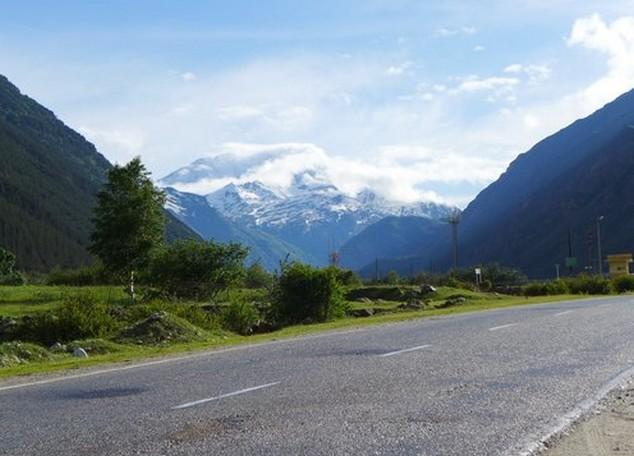 путешествие на машине на эльбрус