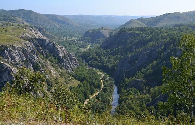 поездка по горной башкирии