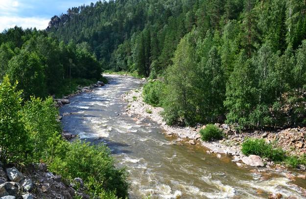 река малый инзер