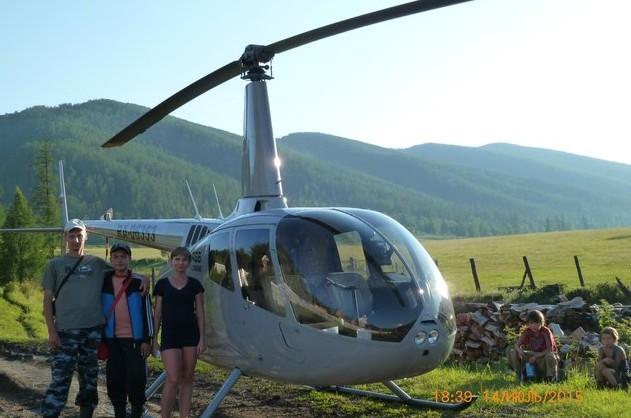 вертолет для туристов