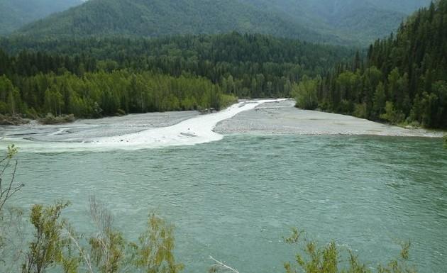 реки аккем и катунь