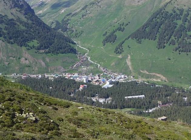 село терскол