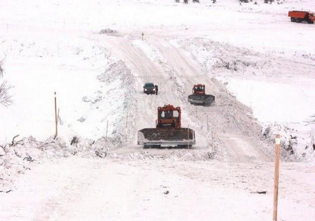 расчиствка зимника нарьян-мар - усинск