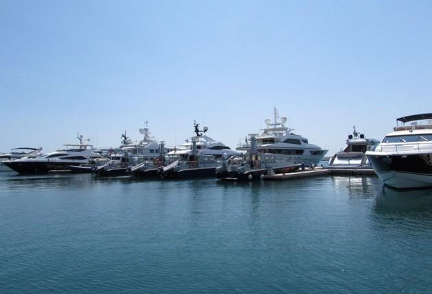 море яхты