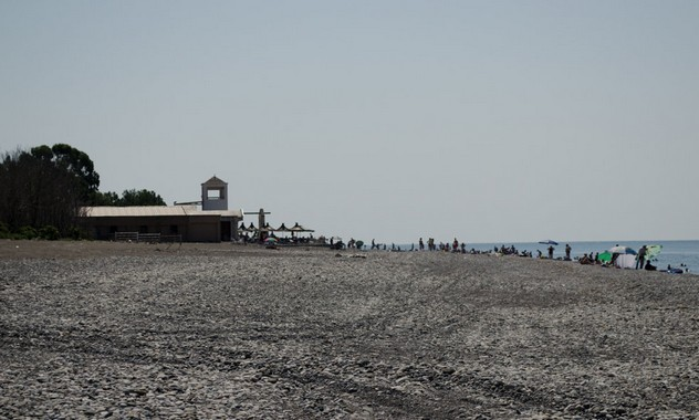 пляж самшитовая роща