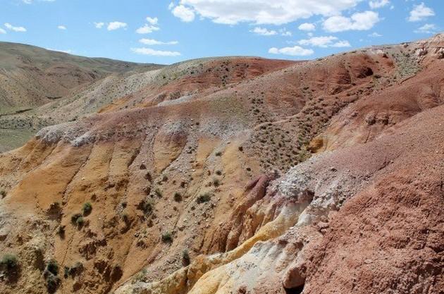 марс красные горы