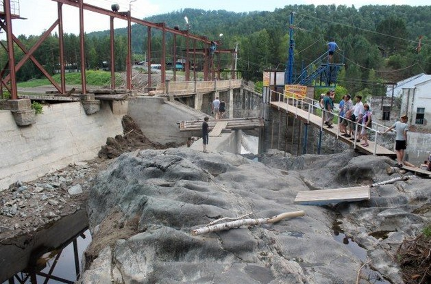чемальская гэс после наводнения