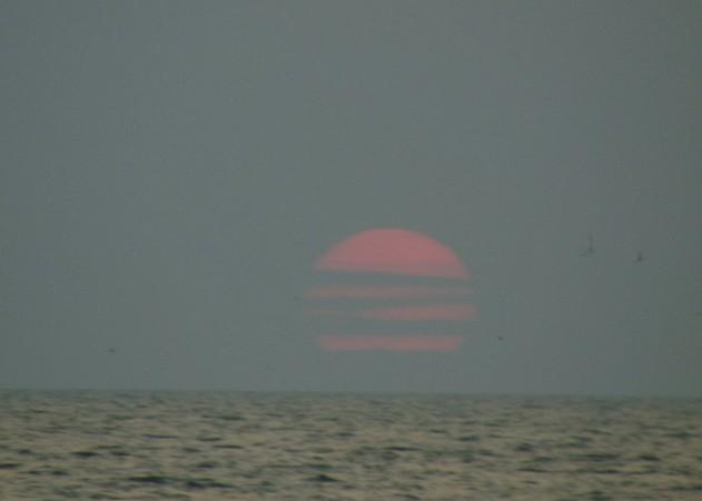 поездка на азовское море солнце в облаках