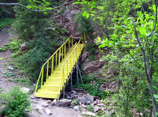 мост в пещеру