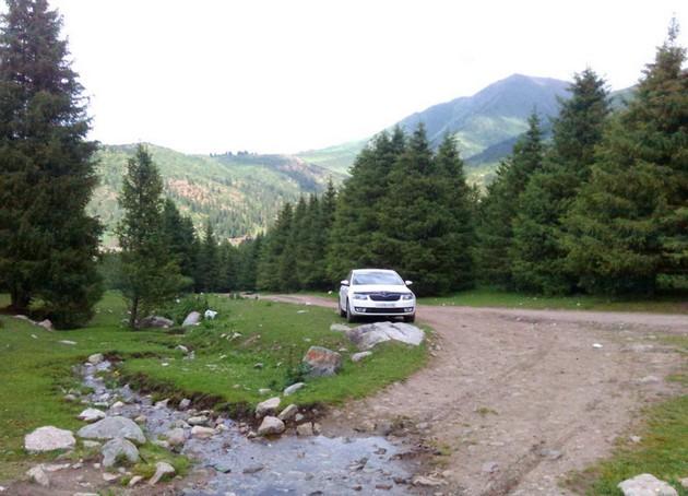 поездка на иссык - куль в горах