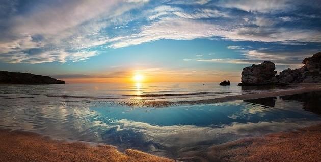 азовское море закат