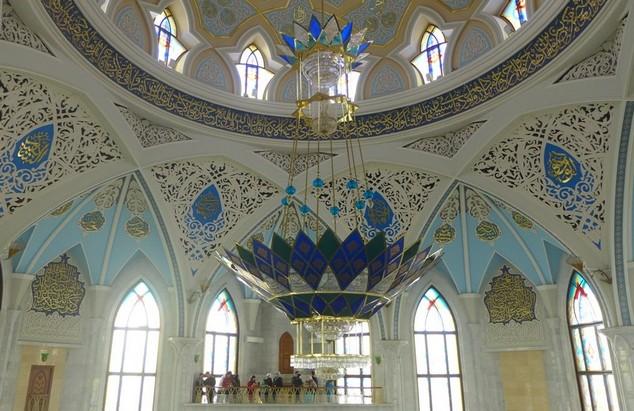 внутри мечеть Кул-Шариф