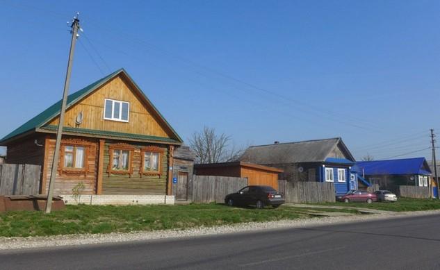 деревня по дороге в муром