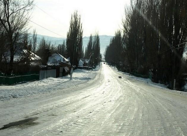 лед на трассе м54