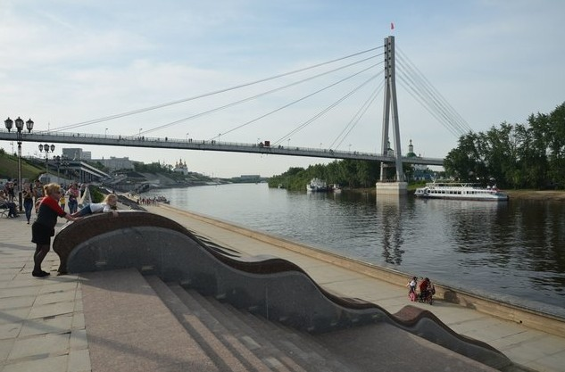 автопутешествие на реку тура