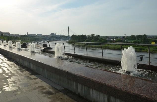 фонатны на набережной тобольска