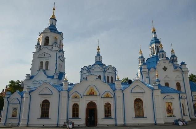 Знаменский Кафедральный Собор в Тобольске