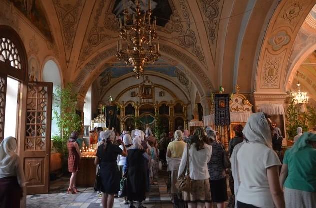 Знаменский Кафедральный Собор в Тобольске на троицу