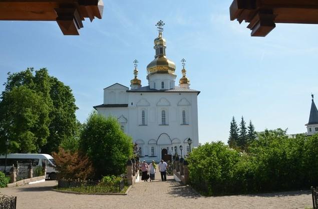 Троицкий мужской монастырь в тобольске