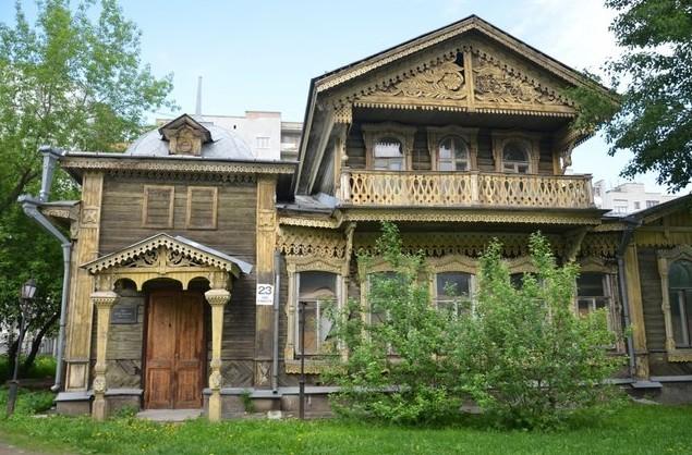 деревянный дом в екаиеринбурге
