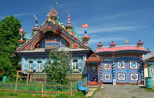 дом кузнеца Сергея Кириллова