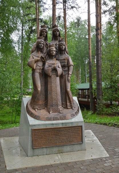 памятник в ганиной яме