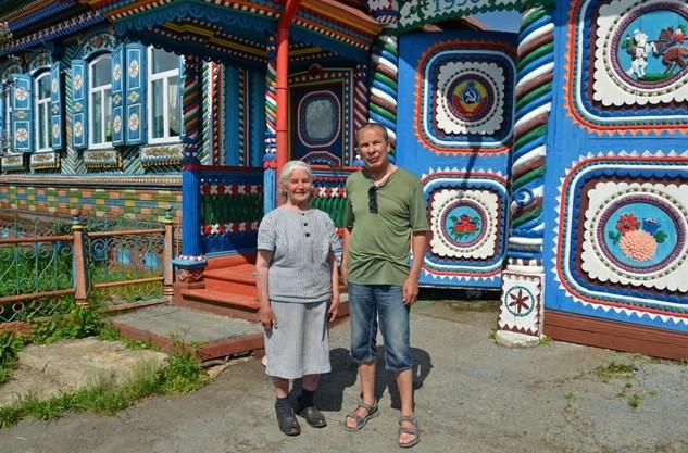 деревянный дом кузнеца Сергея Кириллова