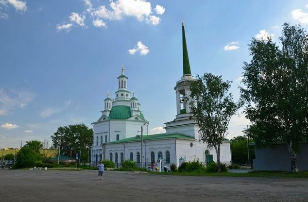 Троицкий собор, в алапаевске