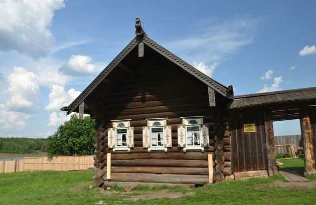 Деревянная изба 18 век
