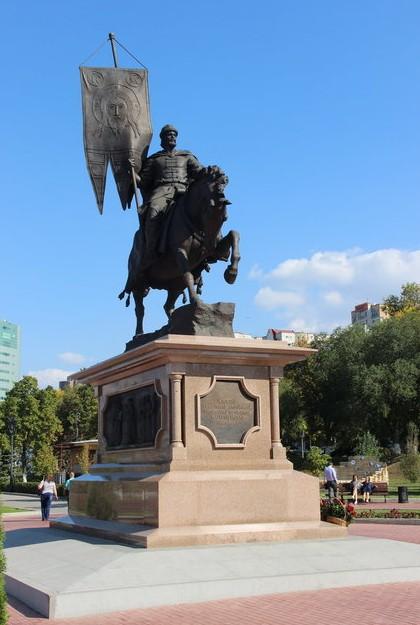 памятник князю засекину в самаре