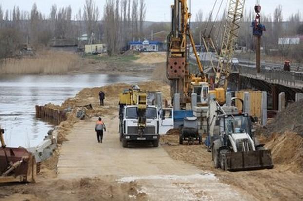 новый мост на трассе р-228