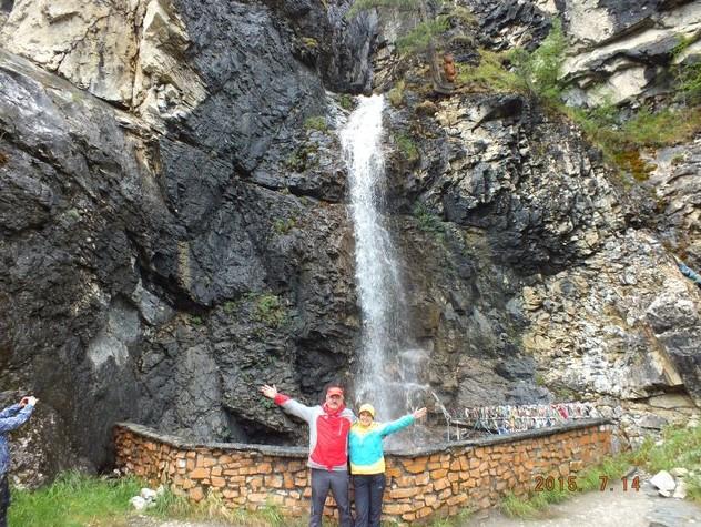 водопад монды