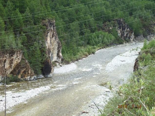 река белый иркут