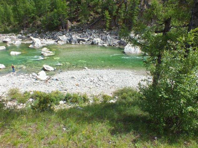 горная река иркут