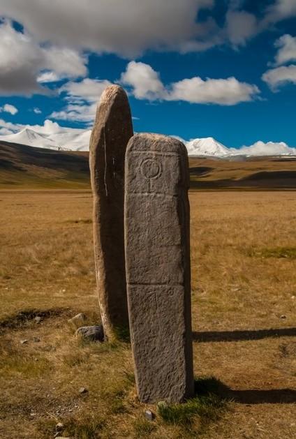 Древние Менгиры на алтае