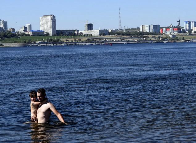 пляж волгоградский