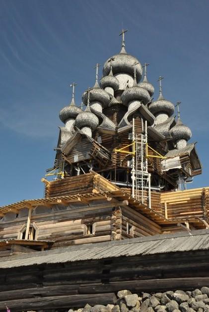 деревянная церковь кижи