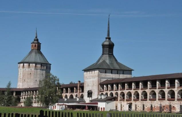 автопутешествие в Кирилло-Белозерский мужской монастырь