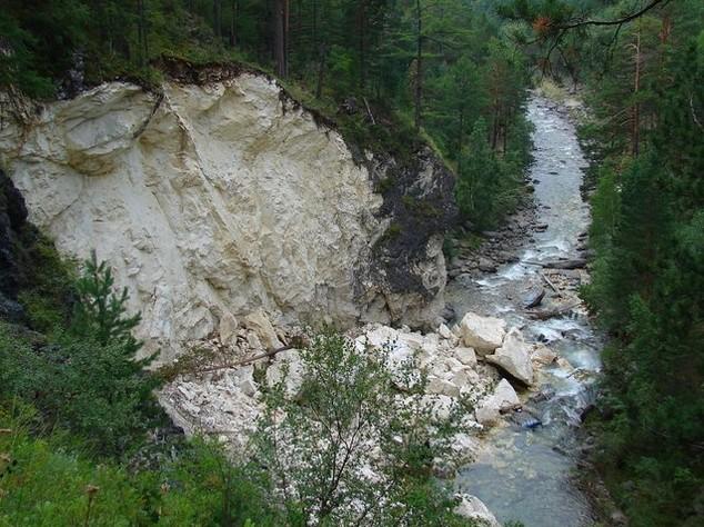 водопады на реке кынарга