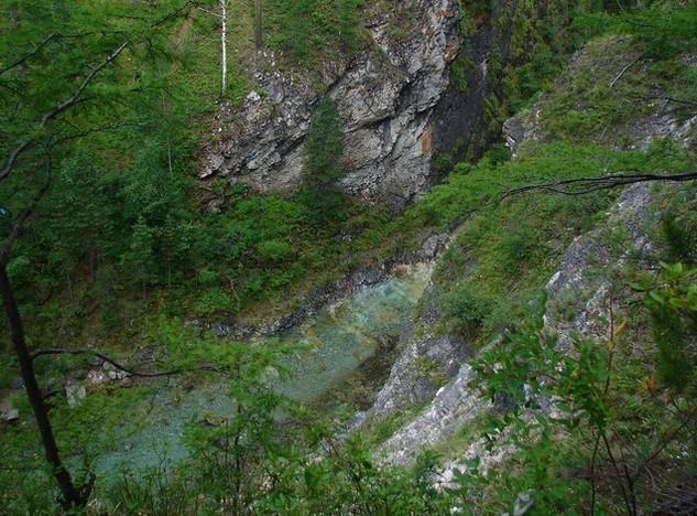 тропа на водопады