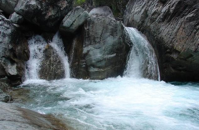 красивые водопады на аршане