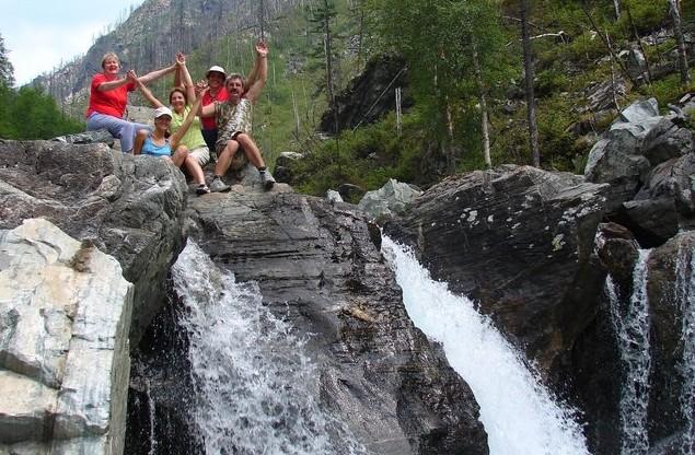 автопутешествие на аршанские водопады