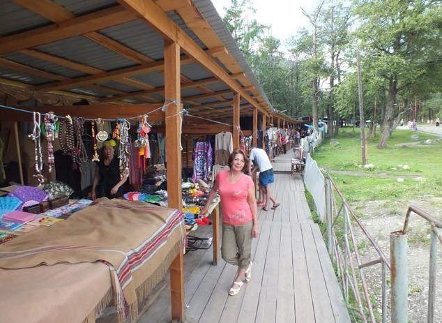 моногольский рынок в аршане