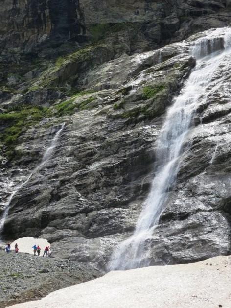 водопад архыз