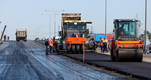 дорожные работы на трассе М-5