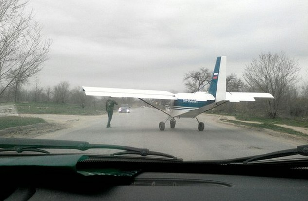 самолет на улице волгограда